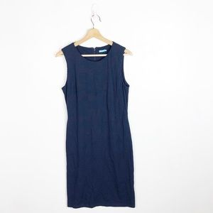 J. McLaughlin Navy Catalina Cloth Sheath Dress